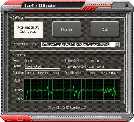 BOOSTER INTERNET POUR ROBUST SPEED TÉLÉCHARGER WINDOWS 5.0.0