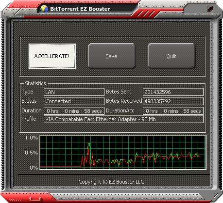 BitTorrent EZ Booster 1.3.1 full