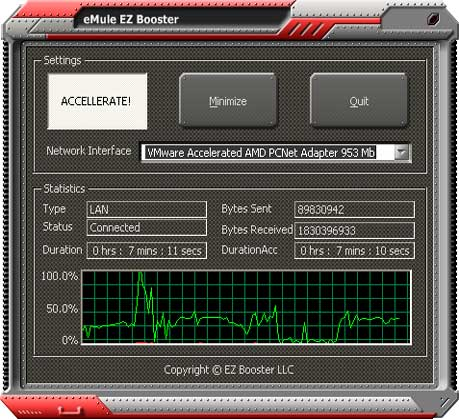 eMule EZ Booster full screenshot